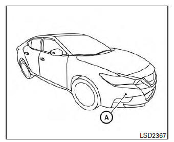 Nissan Maxima. Forward Emergency Braking (FEB) (if so equipped)