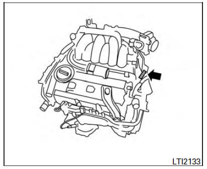 Nissan Maxima. Engine serial number