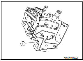 Nissan Maxima. A/C AND AV SWITCH ASSEMBLY