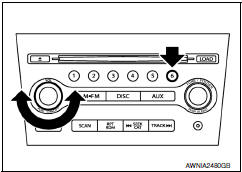 Nissan Maxima. AV COMMUNICATION DIAGNOSIS FUNCTION