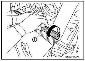 Nissan Maxima Service and Repair Manual - Door outside