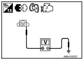 Nissan Maxima. CHECK BATTERY CURRENT SENSOR POWER SUPPLY CIRCUIT