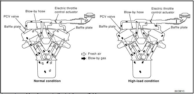 Nissan Maxima Service and Repair Manual - Positive crankcase