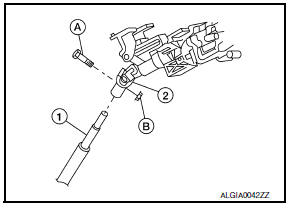 Nissan Maxima. Steering Column Assembly