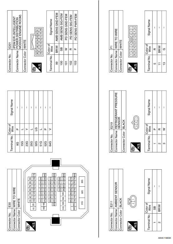diagram 2009 nissan maxima air conditioner wiring diagram