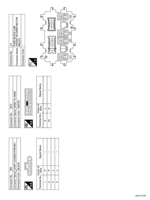 Nissan Air Conditioning Wiring Diagram on