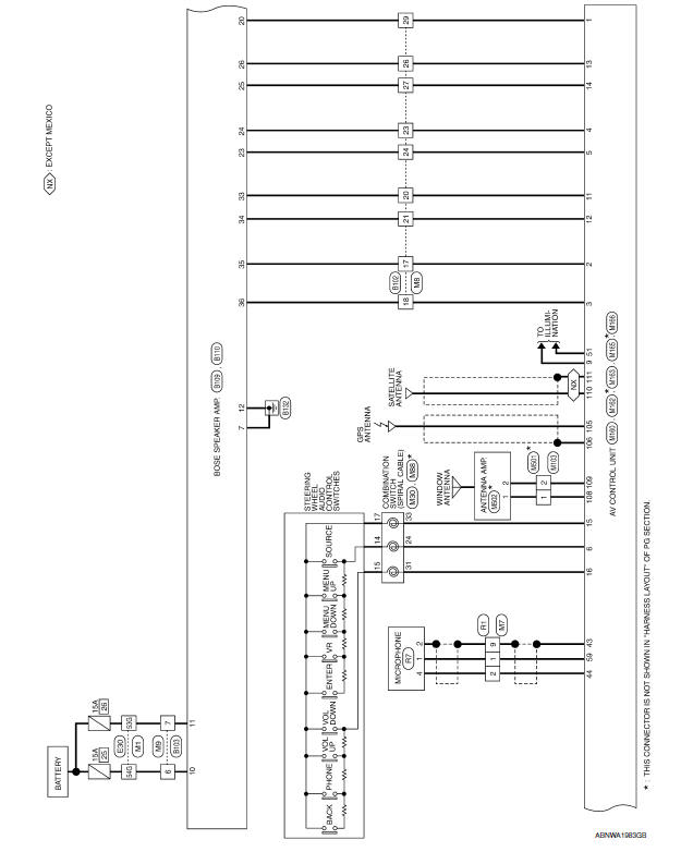2003 nissan maxima bose radio wiring diagram nissan maxima service and repair manual - wiring diagram ... 1995 nissan maxima bose wiring diagrams